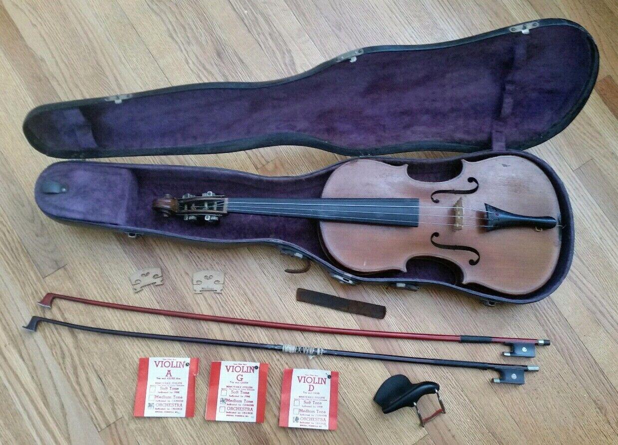 1901 Salvadora de Durro Violin Sondermodell Antonius Stradivarius B&J New York