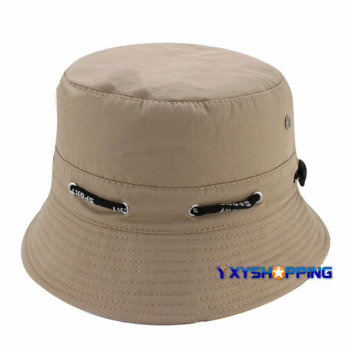 Unisex Bush Bucket Boonies Hat Hiking Fishing Outdoors Wide Brim Visor Sun Caps