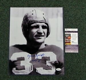 Sam-Baugh-D-2008-Signed-Redskins-B-W-11x14-Photo-Close-Up-W-HOF-63-JSA