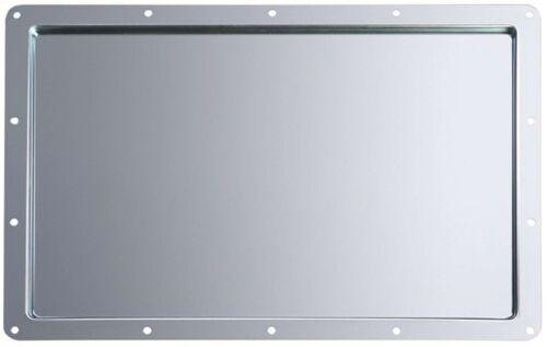 Einbauschale Metall für Tourlabel Beschriftungsschild Produktionsschild 332x232