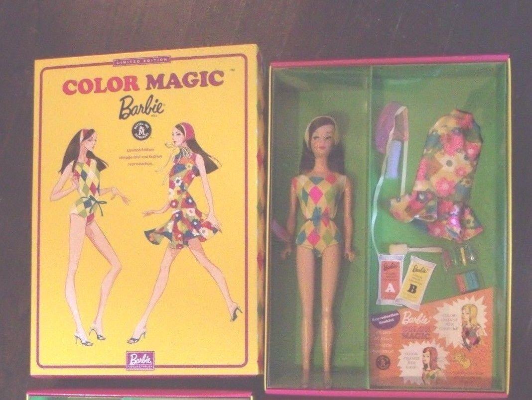 Color Magia Barbie 2004 le otorga un deseo Mini convención
