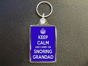 KEEP-CALM-AND-CARRY-ON-SNORING-GRANDAD-KEYRING-GIFT-BAG-TAG-BIRTHDAY-GIFT