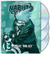 Naruto Uncut - Box Set Vol. 13 (DVD, 2009, 3-Disc Set) NEW
