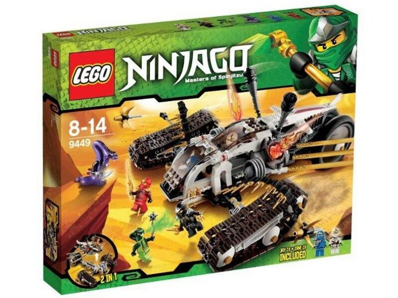 LEGO 9449 - NINJAGO - Ultra Sonic Raider - NEW   SEALED