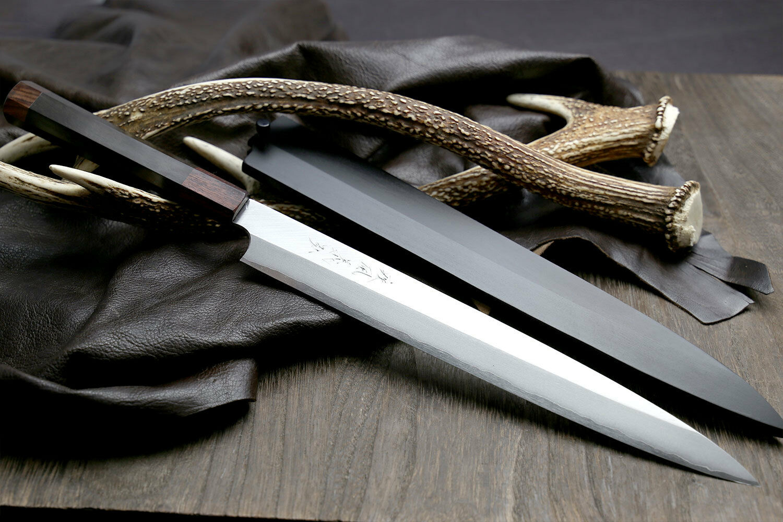 Yoshihiro spécial forgé IGA-HIRO Series VG StainlessSteel Yanagi sashimi couteau