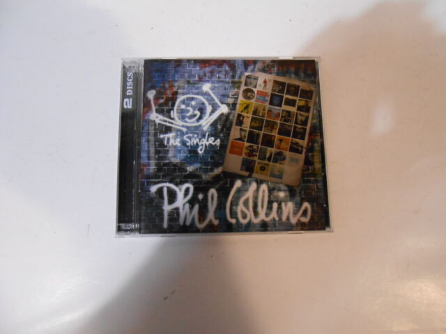 PHIL COLLINS-THE SINGLES-TWO CD SET-NEW-AUSTRALIA-2016-FEATURING STING
