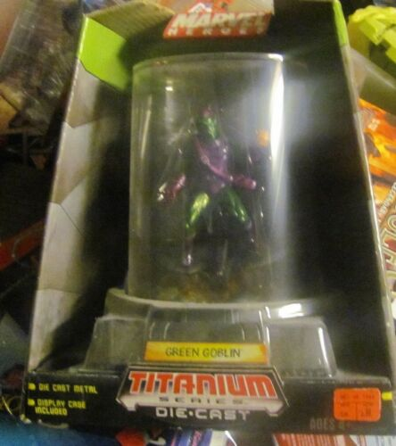 Spider-man  Titanium Die cast Green Goblin figure NEW IN PACKAGE
