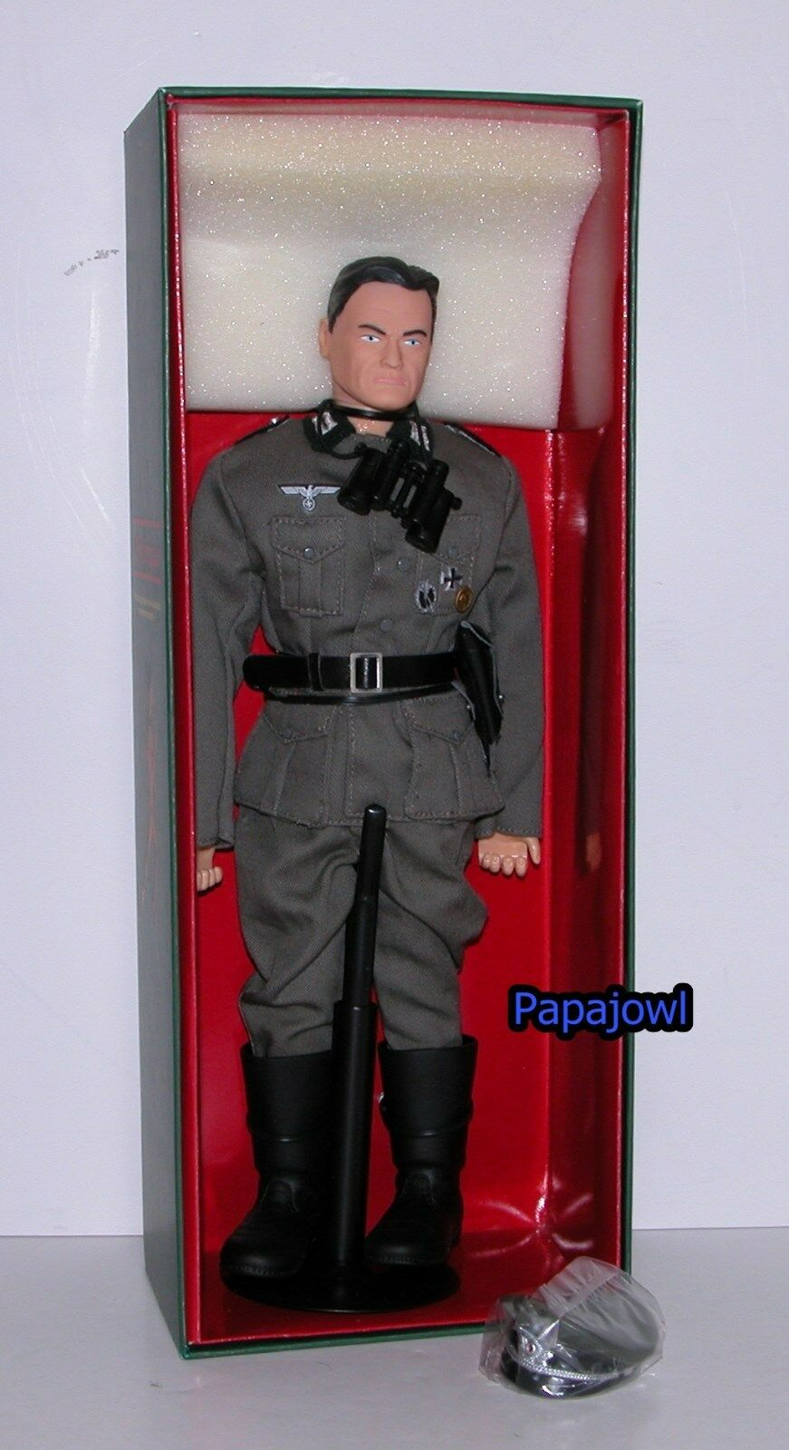 WW II German Army Infantry Office The Elite Brigade 12  Action Figure 1 6 Scale