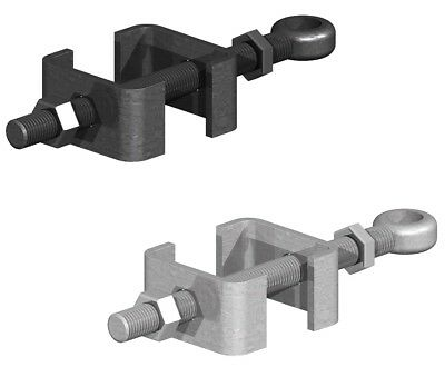 Adjustable Bottom Gate Hinge Bottom Band Black Or