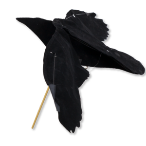 Crow-Hypa-Flap-Decoy-by-Sillosocks-Suitable-for-Rotary-Machine-or-Bouncer-Poles