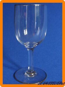 1 Ancien Verre A Vin Cristal De Baccarat Modele Perfection Or Hauteur 12,5 Cm