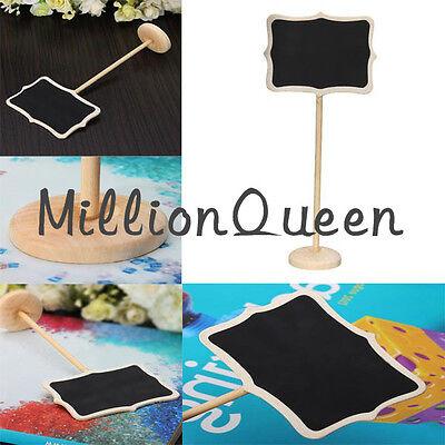 10Pcs message board blackboard stand chalkboard party wedding table gift decor
