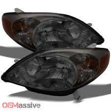 2003-2008 Toyota Matrix Smoked Headlights Headlamp Replacement Left+Right 03-08