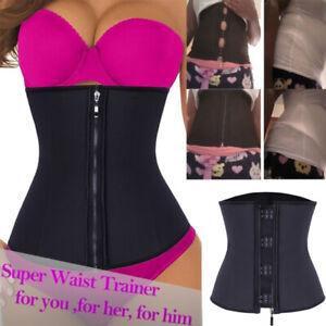 Fajas-Colombianas-Zip-Latex-Waist-Trainer-Weight-Loss-Long-Torso-Shapewear-Plus