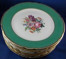 Antique French Paris Porcelain 8 Rihouet Floral Plate s Porcelaine Assiette