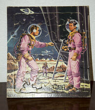 1950 TOM CORBETT SPACE CADET ASTRONAUT FRAME TRAY PUZZLE