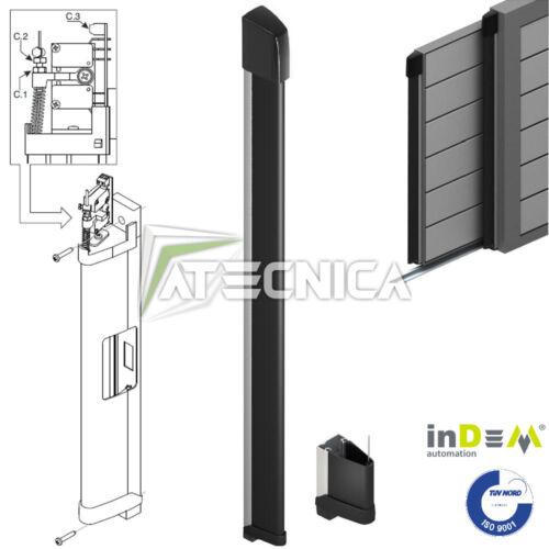 Bordo sensibile costa di sicurezza a filo per cancelli alta 160 cm INDEM CM16