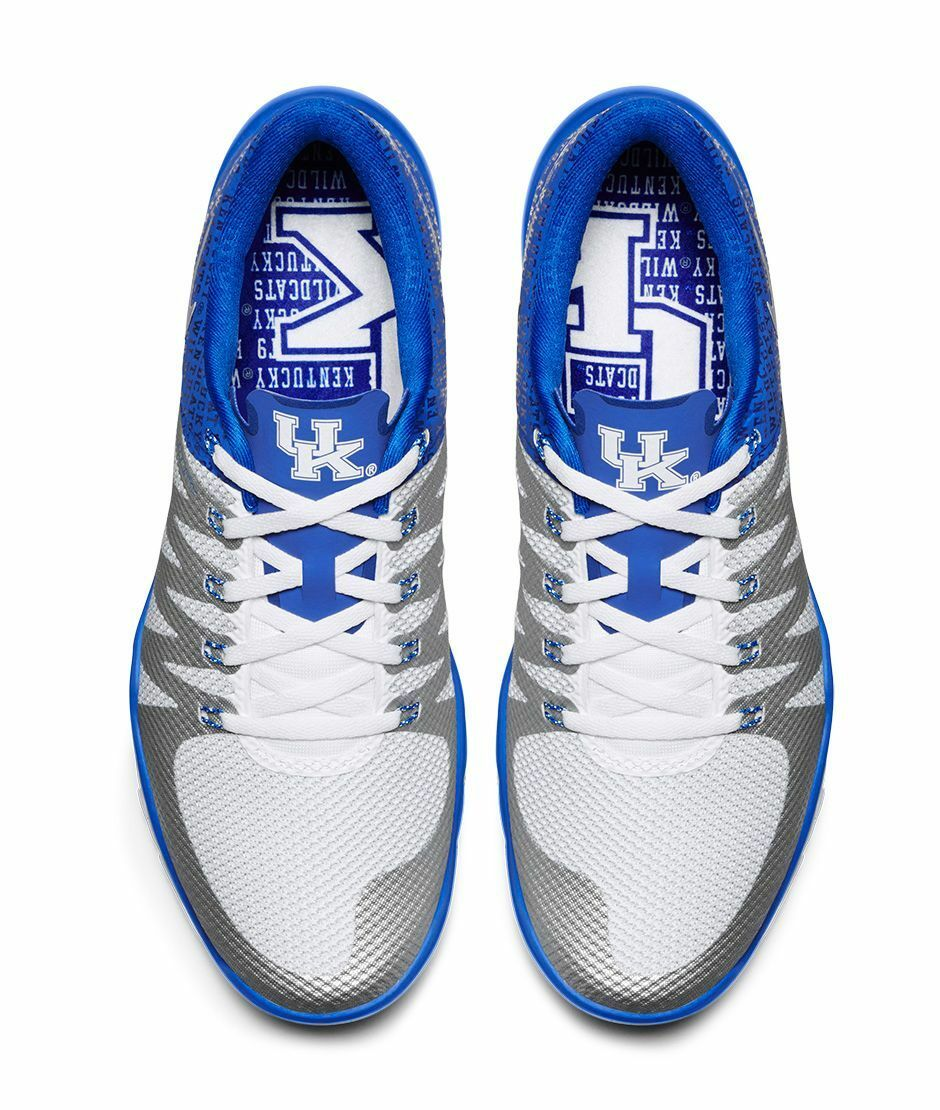 Nike Free Trainer 5.0 KENTUCKY WILDCATS Size 14. 723939-401. Blue V6 AMP