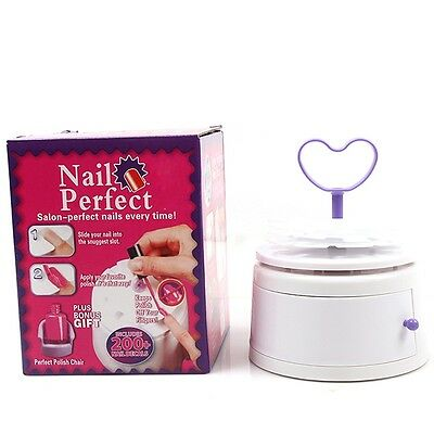 Special Nail Art Polishing Tool Perfect Solution Salon Beautiful Nails Tool - 6A