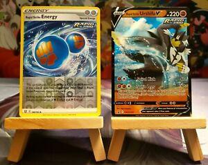 Rapid Strike Urshifu V [SWSH107] + Rapid Strike Energy - Pokemon Battle Styles