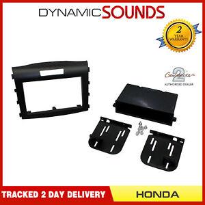 CT23HD24-Noir-Double-Din-Adaptateur-Garniture-Panneau-pour-Honda-Cr-V-2012-gt