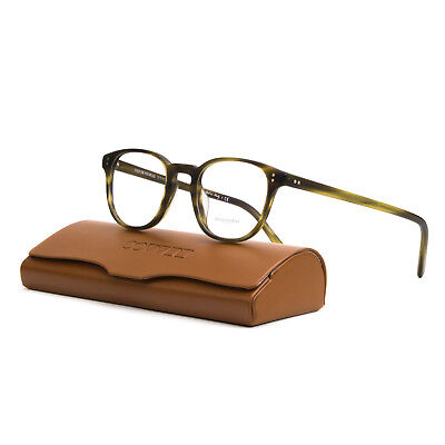 New Oliver Peoples OV 5219 1310 Fairmont Amaretto Stripped Havana Eyeglasses