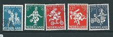 NETHERLANDS 1958 CHARITY SET FINE  USED CAT£12
