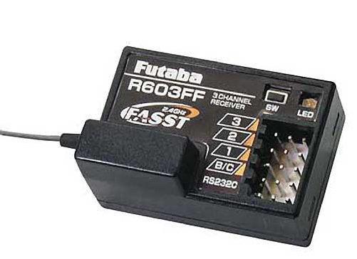Futaba R603FF 2.4GHz FASST 3 Channel Receiver FUTL7631