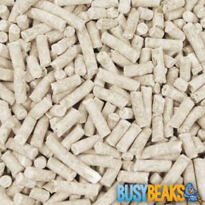 BusyBeaks Peanut Suet Pellets - Premium High Quality Wild Garden Feed Bird Food