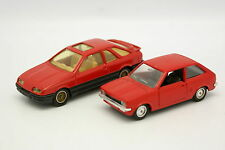 Solido SB 1/43 - Lot de 2 Ford Sierra et Fiesta MKI