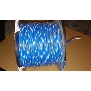 ANIXTER KLTSTRIPE/40008701 WIRE 18GA MTW BLUE/WHITE STRIP 600 VOLT ...
