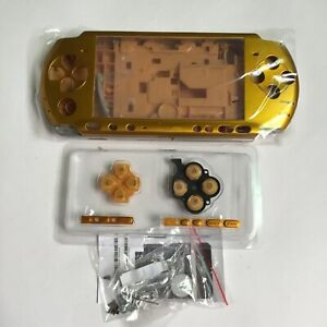 New-Full-Housing-Shell-Replacement-for-Sony-PSP-3000-Console-Faceplate-Case-Gold