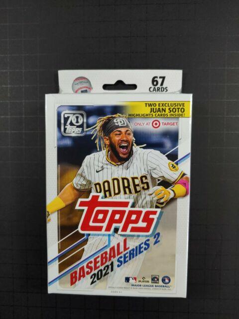 🔥 2021 Topps Series 2 Baseball Hanger Box  Factory sealed 67 Cards TARGET. SOTO