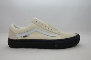 Vans-Old-Skool-Pro-Classic-White-Black-Men-039-s-Size-7-5-12-New-in-Box-VN000ZD4U20