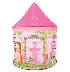 Image is loading Kids-Play-Tent-Princess-Castle-Glow-Dark-Toddler-  sc 1 st  eBay & Kids Play Tent Princess Castle Glow Dark Toddler Girl Gift ...