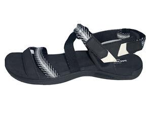 White Strap Sandals Sz 9