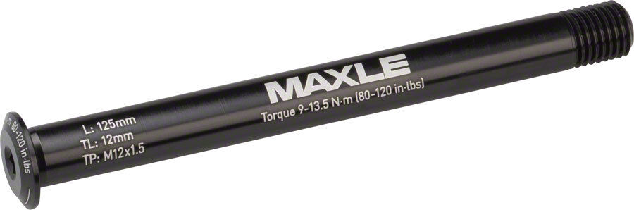 Maxle Stealth  Front Thru Axle  12x100 125mm Length Road  big discount