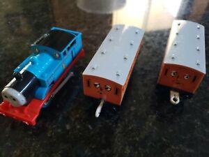 Motorized-Trackmaster-Thomas-amp-Friend-Train-Tank-Engine-TOMY-1992-Annie-Clarabel