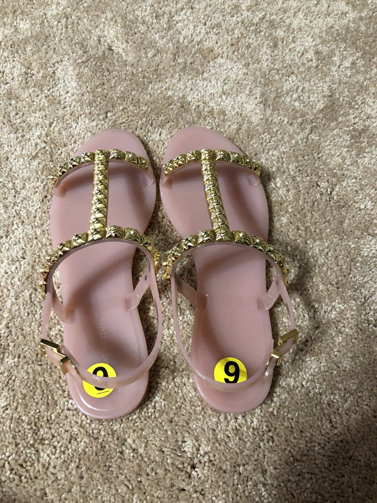 Stuart weitzman sandals size 9 brand new