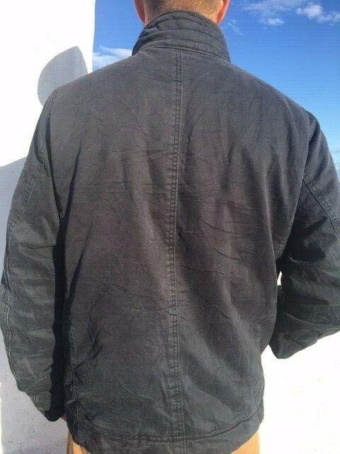 s l1600 - HOLLISTER Mens CARPINTERIA Jacket Size XL UK Navy Vintage RRP £450