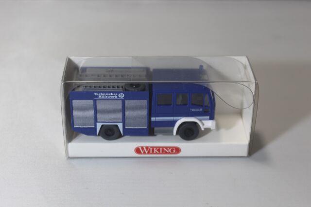 WIKING 1:87 - 693 05 32 Gerätewagen GKW IVECO THW - rar - OVP - #1201