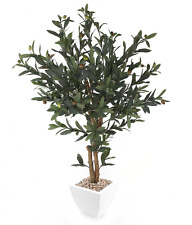 Closer to Nature Artificial 3ft Olive Tree - Artificial Silk Plant and Tree Rang
