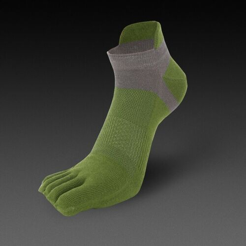 Men Women Toe Socks Sports Trainer Breathable Five Finger Pure Cotton Soft Safe