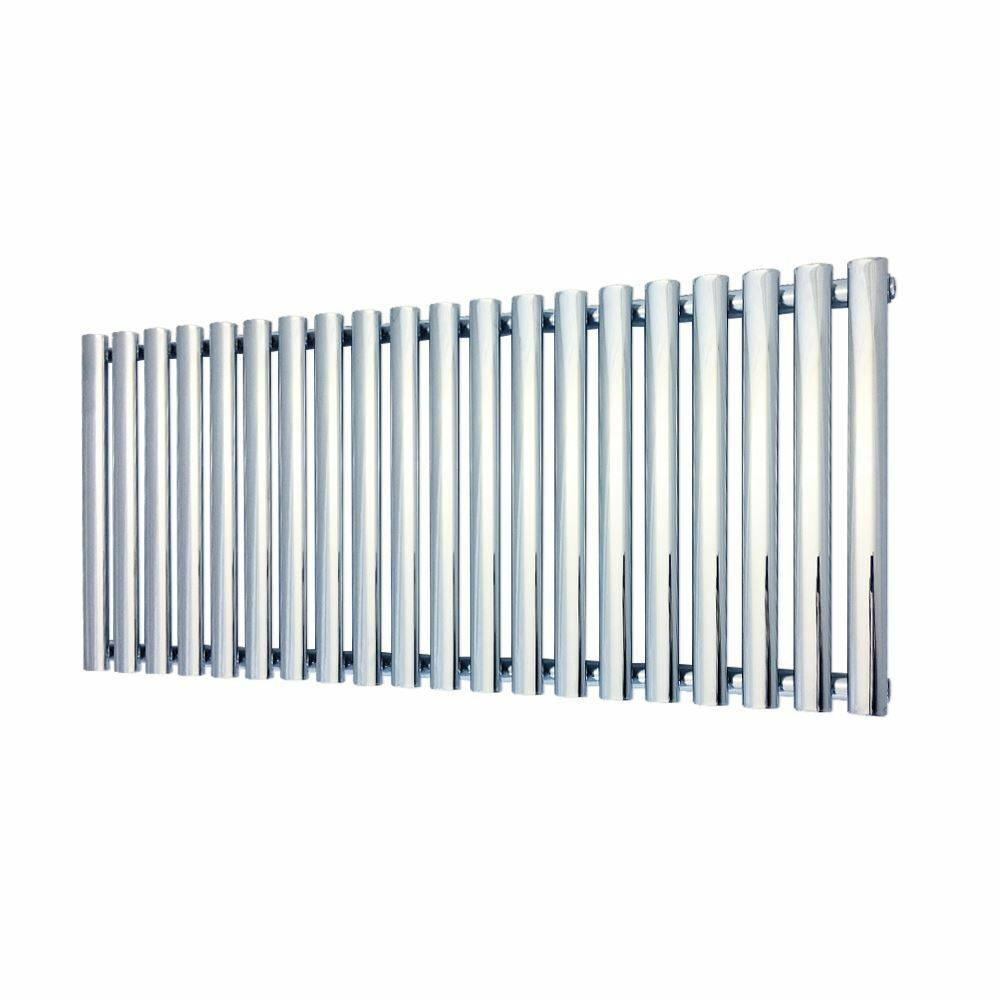 1380 mm x 500 mm  Reine  CHROME OVALE TUBE Designer Radiateur 3090 BTU
