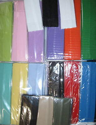 6 SOLID COLOR Headbands Continuous stretch Pastel Bold You Pick LOT Nylon