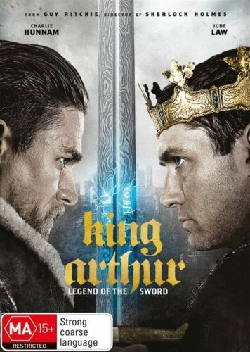 1 of 1 - King Arthur - Legend Of The Sword (DVD, 2017)