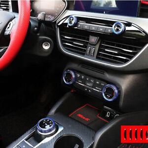 AC-Klima-Drehknoepfe-Multimedia-Regler-Console-fuer-Ford-Focus-MK4-IV-ab-bj-2018