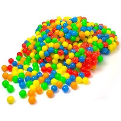 50 - 10.000 Stück Bällebad Bälle ø 5,5 cm Bällebadbälle Bunte Farben - NEU!