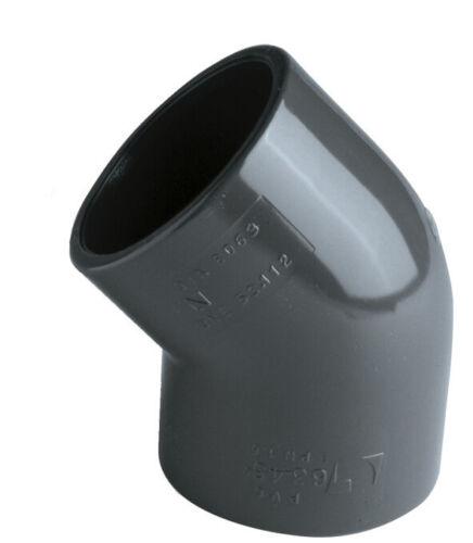 PVC Winkel 45° d 50 mm