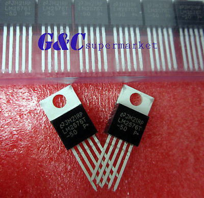 20PCS LM2576T-5.0 LM2576 IC REG BUCK 5.0V 3A TO220-5 NEW GOOD QUALITY T4